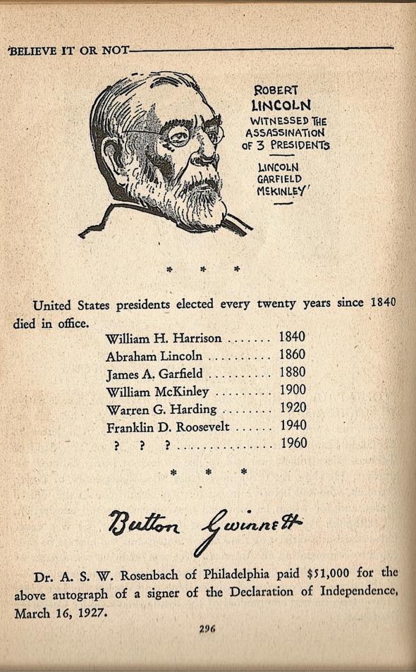 1934 Ripley's book