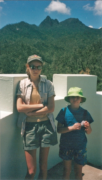 Tired chupacabra hunters, El Yunque