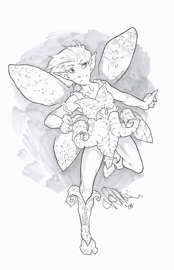 Autumn, a fairy with a big heart.