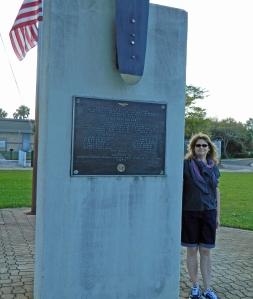 Memorial for Flight 19.