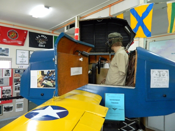 Avenger trainer, maybe used by George Bush or Charles Taylor