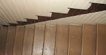 Stairs at a shallow angle allow a small woman suffering from arthritis comfort...or was she just CRAZY?