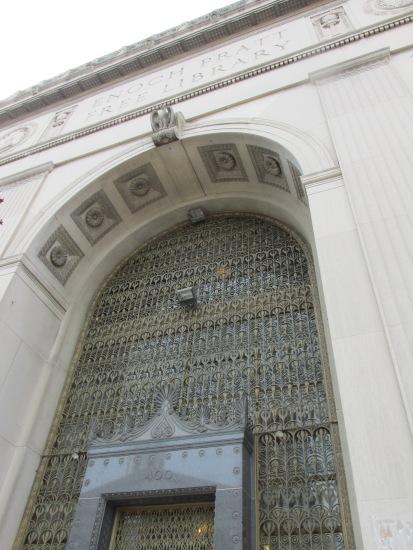An impressive front door!