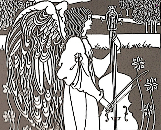 Let's face it, if she wasn't an angel, no one would even listen to her play the cello...(Beardsley)