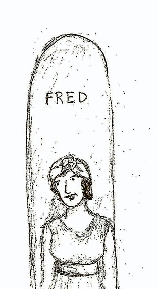 "Agatha used a long board named ""FRED"" when she surfed in Hawaii"