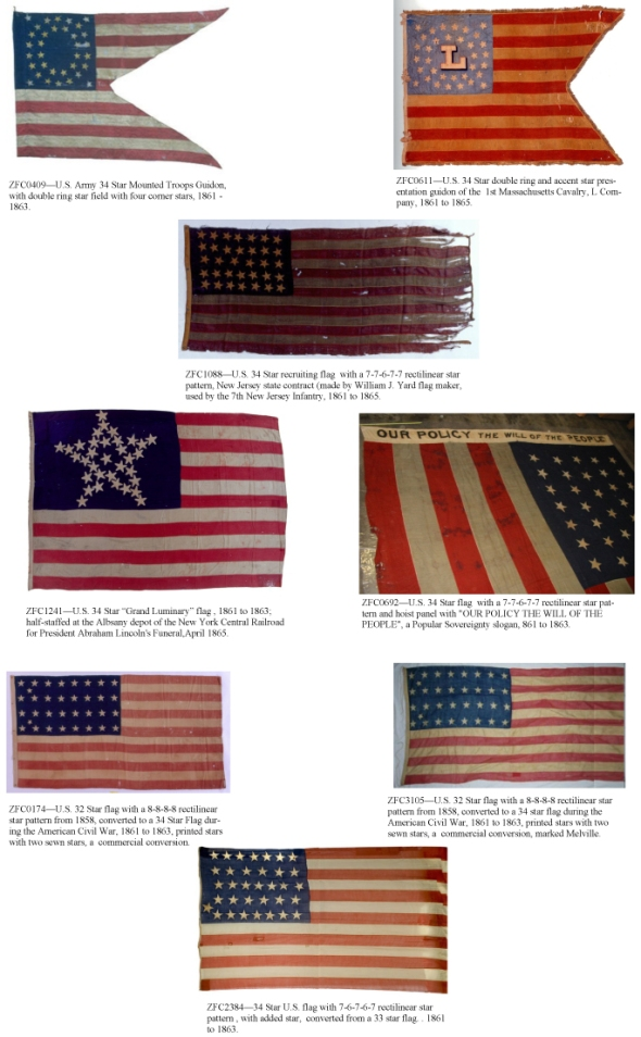 Some nice Northern flags from the Civil War.