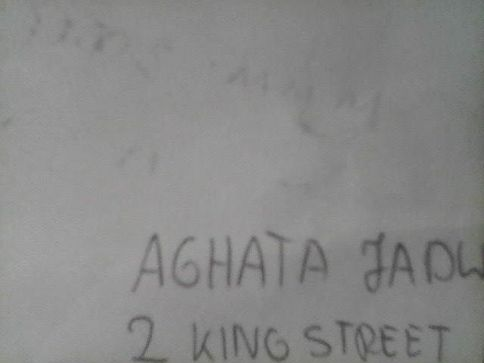 While an interesting name, not Agatha's name.