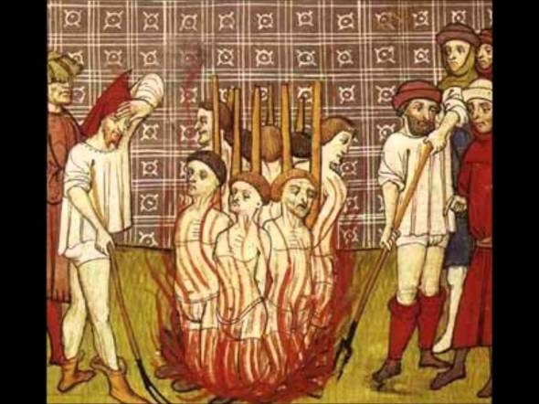 Cathars learned that thinking was not welcomed by the Church.