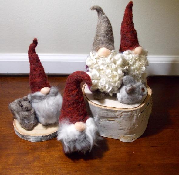 My gnomes.