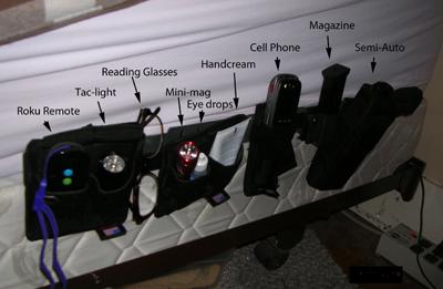 Bedside-holster